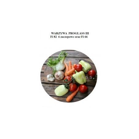 Zakrętka fi82 Warzywa Proglass III
