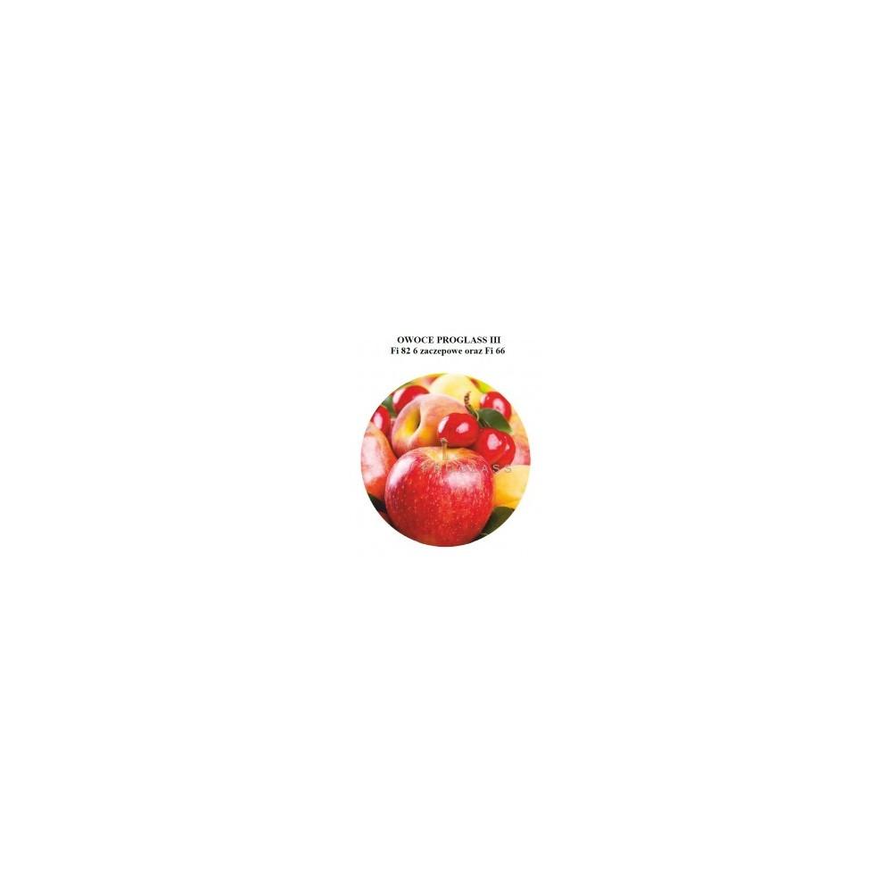 Zakrętka fi66 Owoce Proglass III
