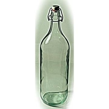 Butelka 2L biała+ zamknięcie pałąk