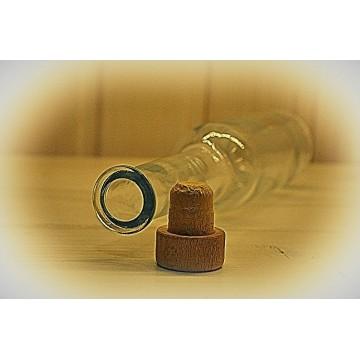 Butelka Liryca 200ml + korek grzybek