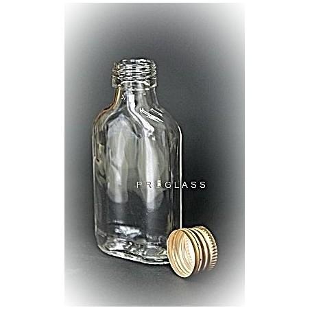Butelka piersiówka 100ml + zakrętka